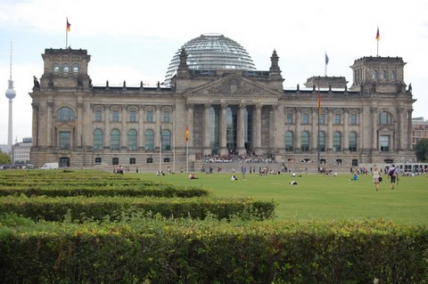 Reichstag German Parliament Building